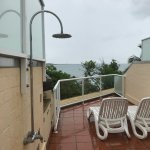 private roof top spa terrace of room 402
