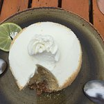 Key Lime Pie - not as good as in the Florida Keys, but scores 9 out of 10.