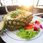 Pineapple Fried Rice at Beach Bar Restaurant