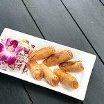 Spring Rolls at Beach Bar Restaurant