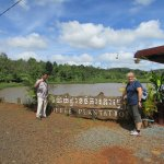 Vebol and I at the Coffee Plantation in Mondulkiri