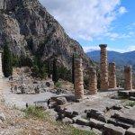 Restored Columns of Temple of Apollo