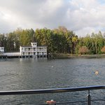 Thermal Lake of Hévíz Foto