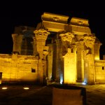 Night view of Kom Ombo Temple