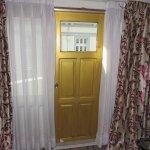 balcony door and 2 big windows