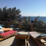 Sun Lounge on the rooftop of H2O Diver Dahab