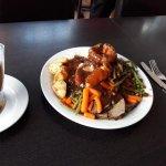 The 3 meat roast dinner