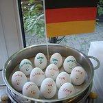 gekochte Eier zur WM