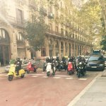 Calle Princesa, Via Vespa Barcelona