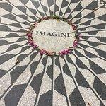 Photo of Strawberry Fields, John Lennon Memorial