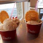 Pistachio, Praline, Caramel & Walnut Cups !!