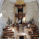 Hurva Synagogue - Main Hall from the top observation point