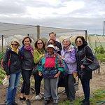 Atlanta Garden group with Mama Nancy and Moya Garden
