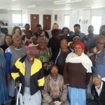 The beautiful seniors at Sinovuyo Seniors in Khayelitsha
