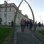 Whalebone arch in Whitby