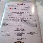 drinks page