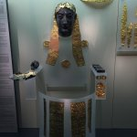 Apollo in gold and ivory