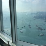 Awesome view of HK from sky100 observation deck