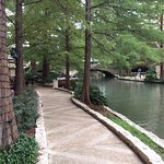 view of Riverwalk from restaurant/bar area