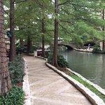 view of Riverwalk from restaurant/bar area
