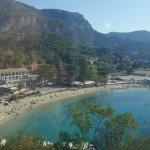 Paleokastristsa beach from above