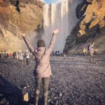 Skogafoss Waterfall!!