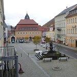 Zimmeraussicht zum Marktplatz