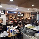 Tummour and food court