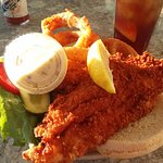 Best Ever Fried Grouper Sandwich