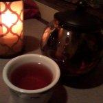 Passion tea with pot
