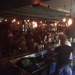 Busy Saturday night at the Alice House!