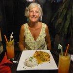 Super prawns (in coconut sauce)