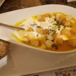 Excellent pumpkin soup recommended