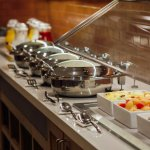 Complimentary daily hot breakfast buffet