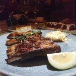 lamb ribs - delectable!