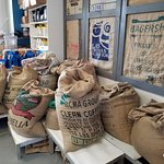 Fresh coffee beans ready for the roaster...  #oceancitycool