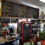 Coastal Coffee Roasting menu board...  #oceancitycool