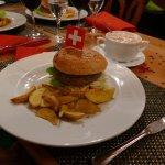 excellent Hamburger avec viande de première qualité