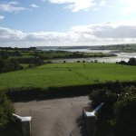 View from room at Seafield of Courtmacherry Bay