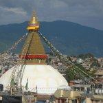 Norbulinka Stupa View Terrace-view