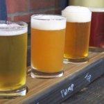 Beer fligths-16 craft brews on tap.