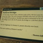 Information on Natural Bridge