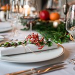 Christmas mood in the Eventroom of our Restaurant Moritz