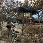Changdeokgung (Palast der glänzenden Tugend) Foto