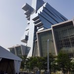 Crazy architecture of Langham Place Gunagzhou