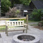We have two outdoor fire pits with chairs ,picnic tables and charcoal grills in common  areas.