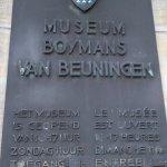 Museum Boijmans Van Beuningen Foto