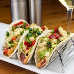 Duck Tacos with Jicama-Poblano Salsa