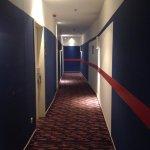 Love the decor in the hallway - modern & fresh