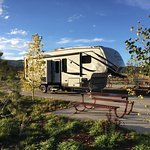 Spacious RV sites and great views